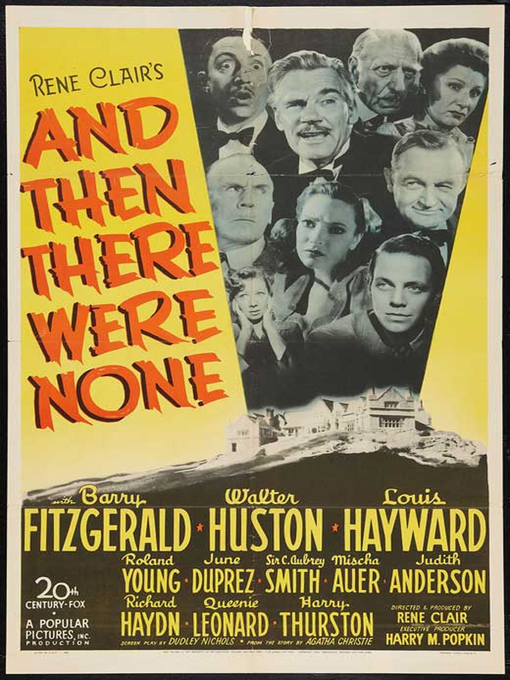Title details for And Then There Were None by Rene Clair - Available