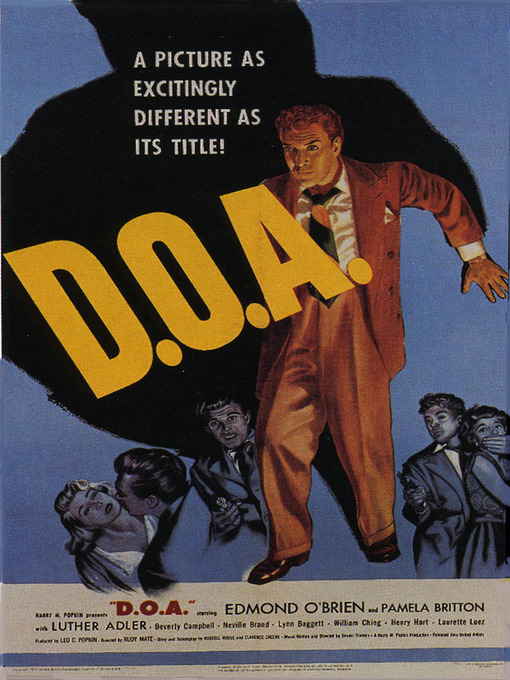 Title details for D.O.A. by Rudolph Mate - Available