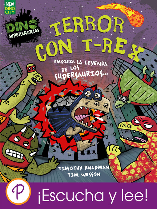 Detalles del título Terror con T-Rex de Timothy Knapman - Disponible
