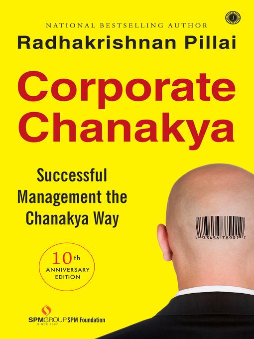 Corporate Chanakya By Radhakrishnan Pillai Ebook