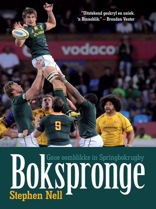 Title details for Bokspronge by Stephen Nell - Available