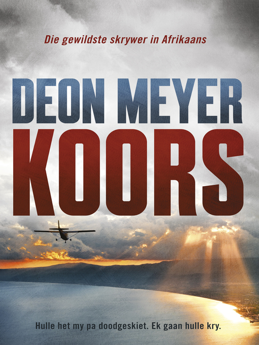 Title details for Koors by Deon Meyer - Wait list