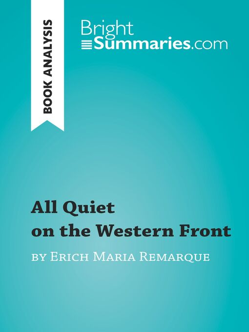 the horrors of war as depicted in all quiet on the western front by erich remarque