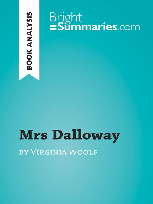 Cover of Mrs Dalloway by Virginia Woolf (Book Analysis)