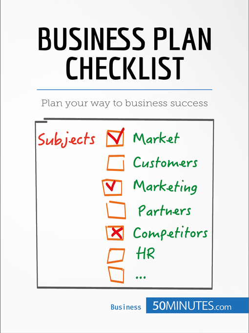 Title details for Business Plan Checklist by 50MINUTES.COM - Available