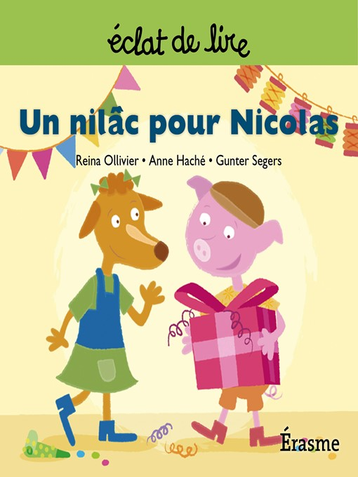 Cover of Un nilâc pour Nicolas