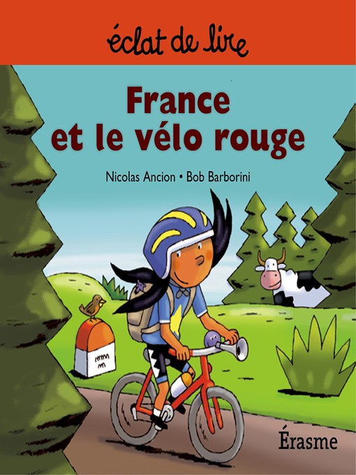 Cover of France et le vélo rouge