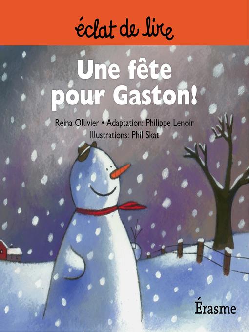 Cover of Une fête pour Gaston !