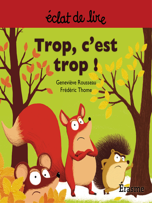 Cover of Trop c'est trop !