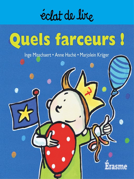 Cover of Quels farceurs !