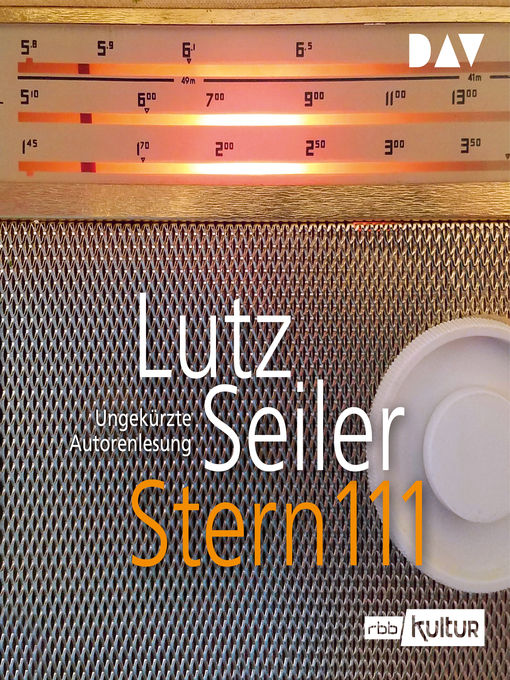 Title details for Stern 111 by Lutz Seiler - Available