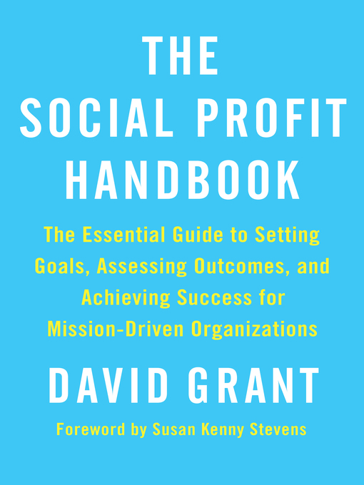 Title details for The Social Profit Handbook by David Grant - Available