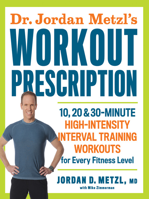 Cover of Dr. Jordan Metzl's Workout Prescription