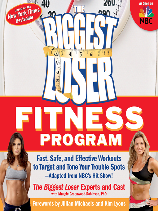 Cover of The Biggest Loser Fitness Program
