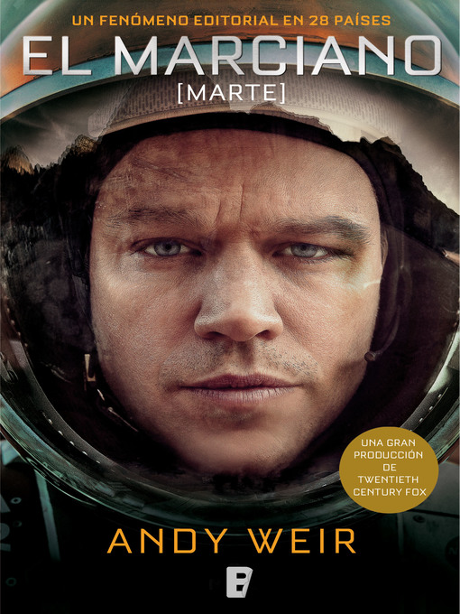 Title details for El marciano by Andy Weir - Wait list