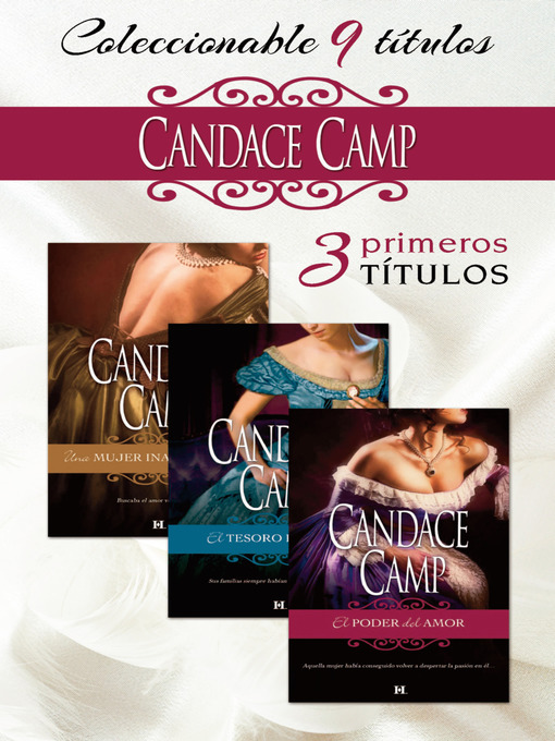 Title details for Pack Candace Camp by Candace Camp - Available