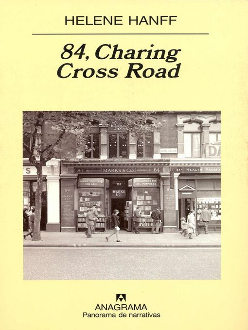 Title details for 84, Charing Cross Road by Javier Calzada - Available
