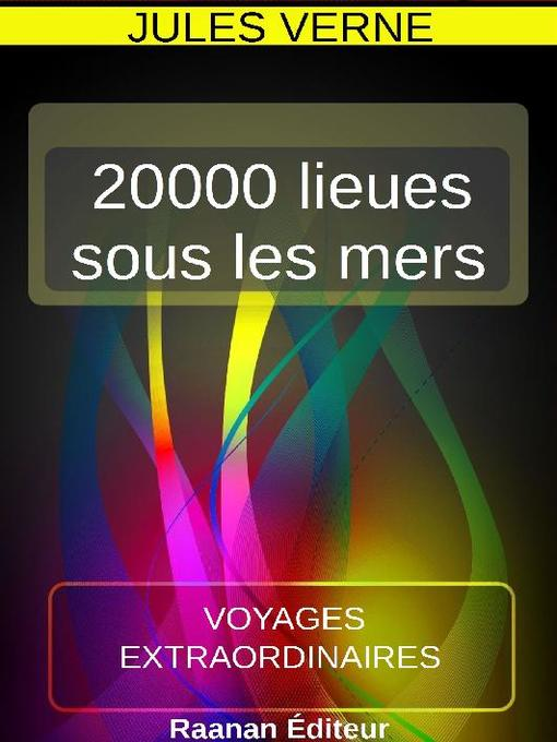 Cover image for 20000 LIEUES SOUS LES MERS
