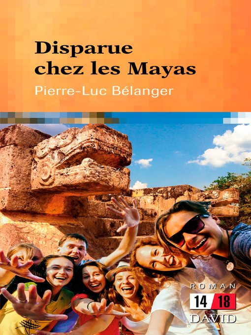 Cover of Disparue chez les Mayas