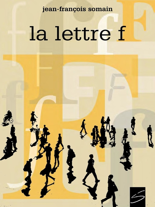 Cover of La lettre F
