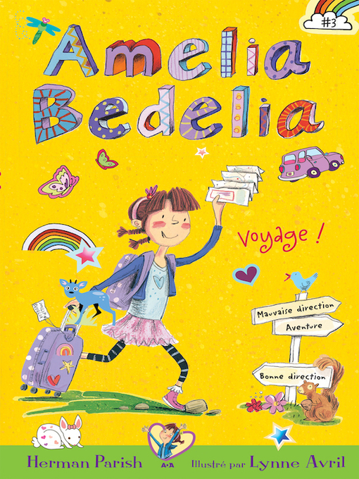 Title details for Amelia Bedelia voyage! by Herman Parish - Wait list