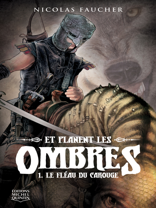 Cover of Et planent les ombres 1--Le fléau du carouge