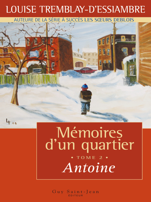 Title details for Antoine by Louise Tremblay d'Essiambre - Available