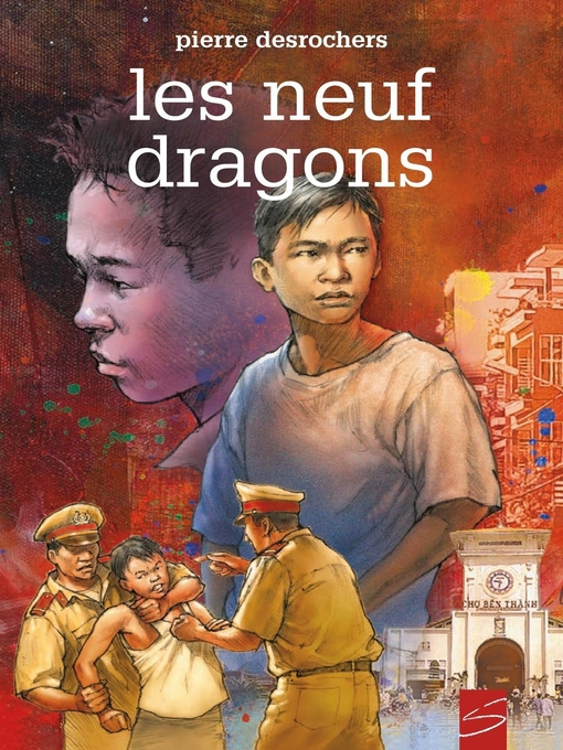 Cover of Les neuf dragons