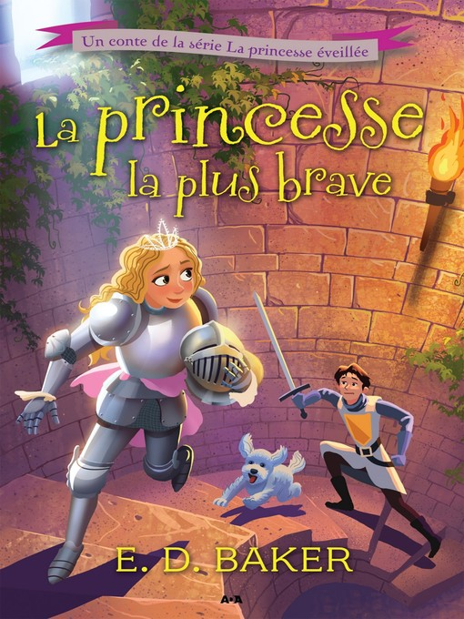 Cover of La princesse la plus brave