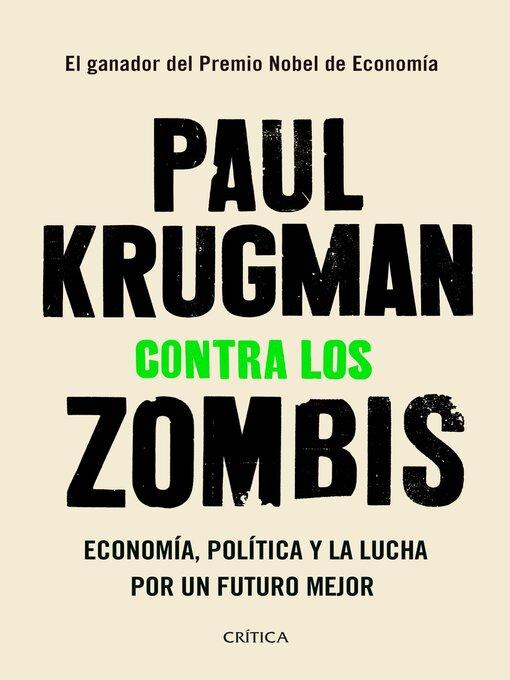 Title details for Contra los zombis by Paul Krugman - Wait list