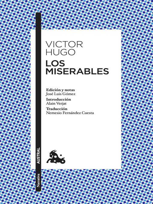 Title details for Los miserables by Victor Hugo - Available