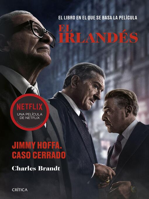Title details for El irlandés by Charles Brandt - Available