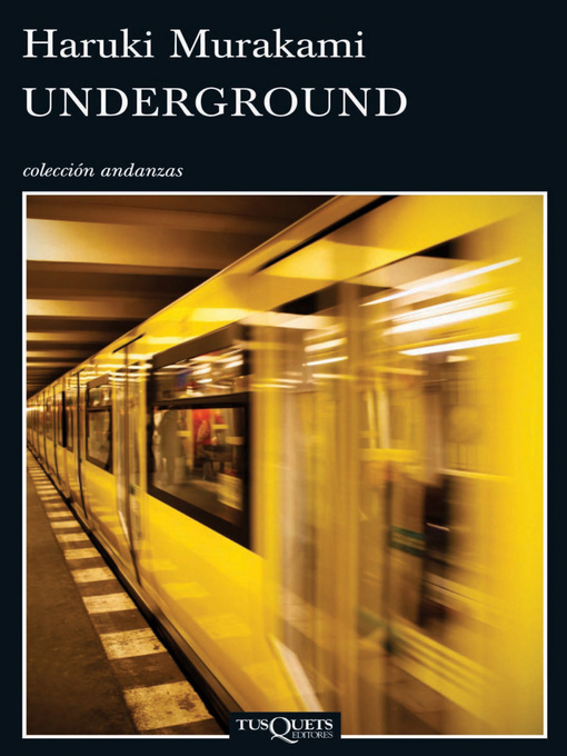 Title details for Underground by Haruki Murakami - Available