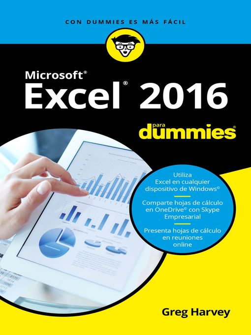 Title details for Excel 2016 para Dummies by Greg Harvey - Available