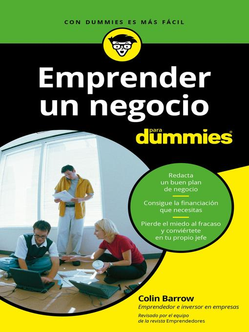 Title details for Emprender un negocio para Dummies by Colin Barrow - Wait list