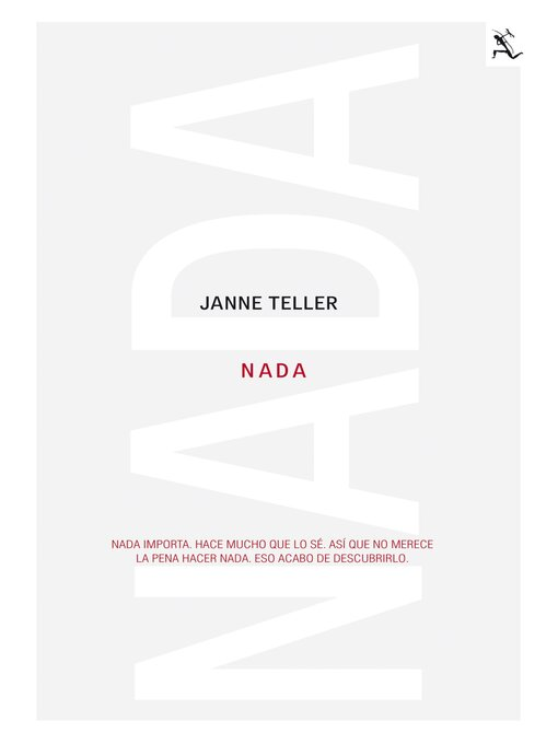 Title details for Nada by Janne Teller - Available