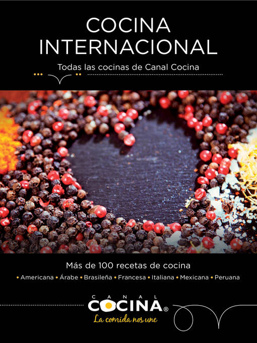 Title details for Cocina internacional by Canal Cocina - Available