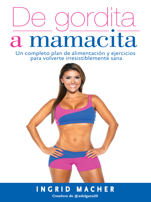 Cover of De gordita a mamacita