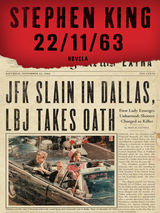 Title details for 22/11/63 by Stephen King - Wait list
