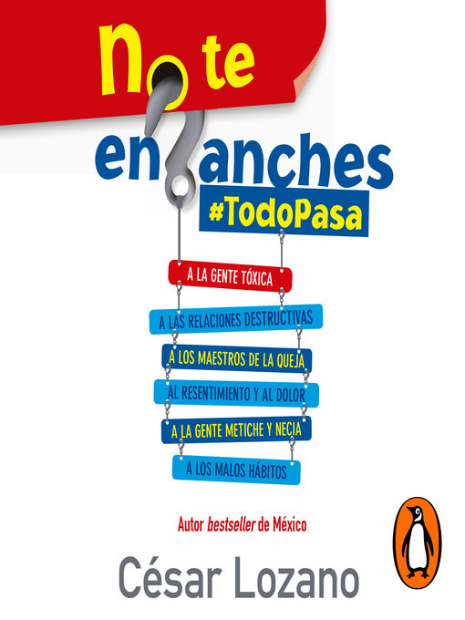 Title details for No te enganches by César Lozano - Available