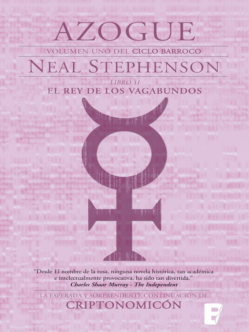 Title details for El Rey de los vagabundos. Parte II. (El Ciclo Barroco 1) by Neal Stephenson - Available