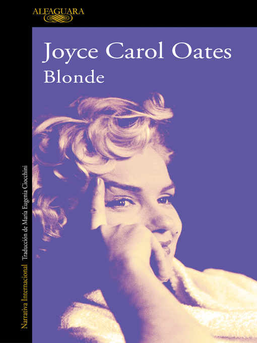Title details for Blonde by Joyce Carol Oates - Available