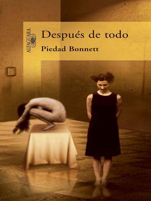 Detalles del título Después de todo de Piedad Bonnett - Lista de espera