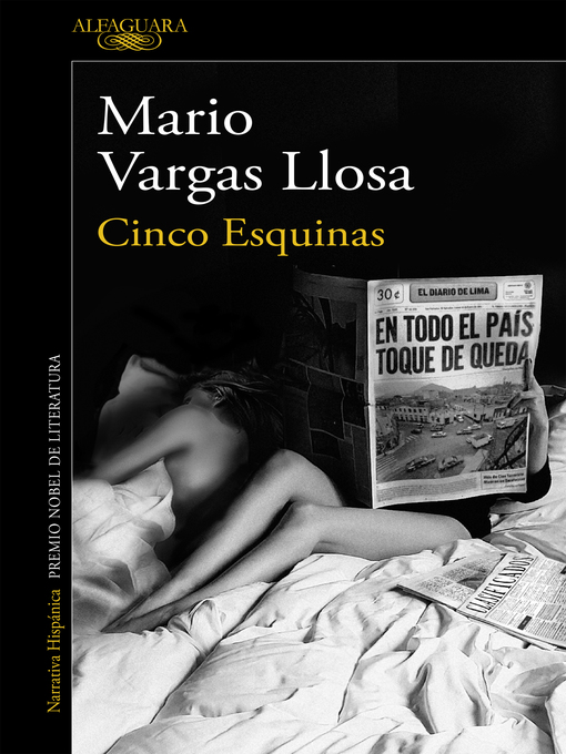 Title details for Cinco esquinas by Mario Vargas Llosa - Available