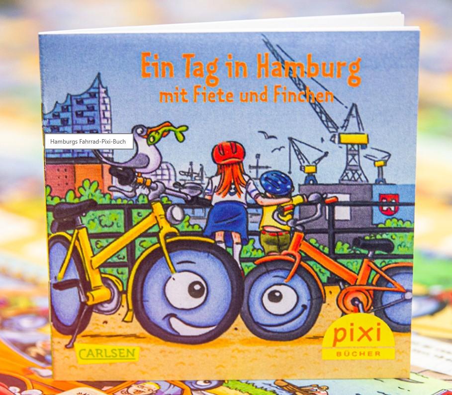 Title details for Ein Tag in Hamburg mit Fiete und Finchen by Carlsen Verlag - Available