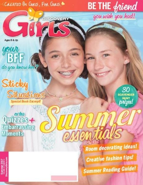 Cover of Discovery Girls