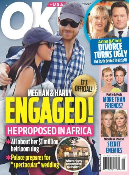 Title details for OK! magazine by American Media, Inc. - Wait list