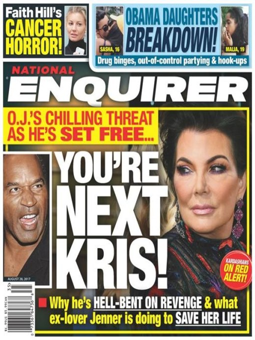 Title details for National Enquirer by American Media Inc. - Wait list