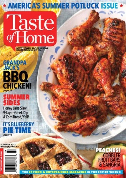 Title details for Taste of Home by Reader's Digest Association, Inc. - Wait list