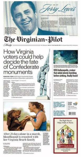 Title details for The Virginian-Pilot by The Virginian-Pilot - Wait list